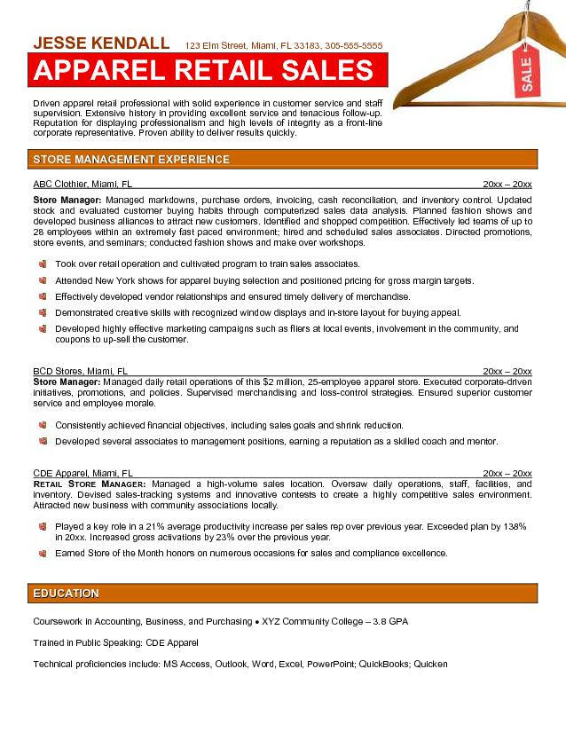Retail Assistant Manager Resume Job Description Example  Assistant Manager Retail Resume