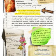 come scrivere un curriculum vitae creativo